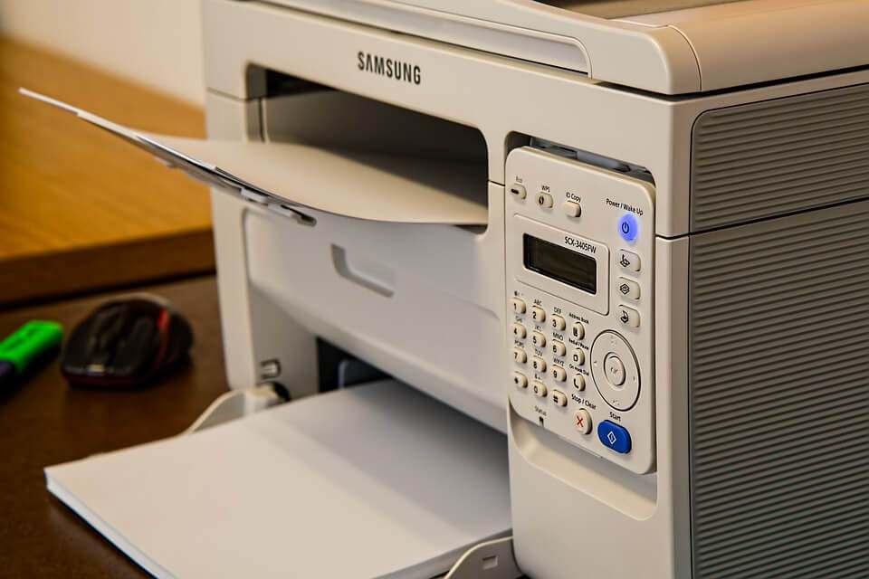 Impressora branca