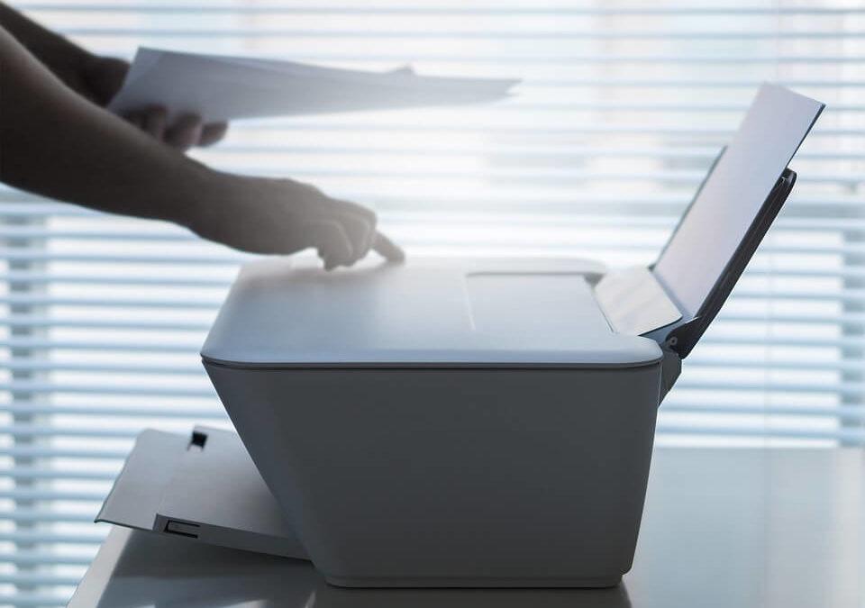 Usando um impressora
