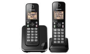 Telefone sem fio Panasonic KX-TGC352B com ramal