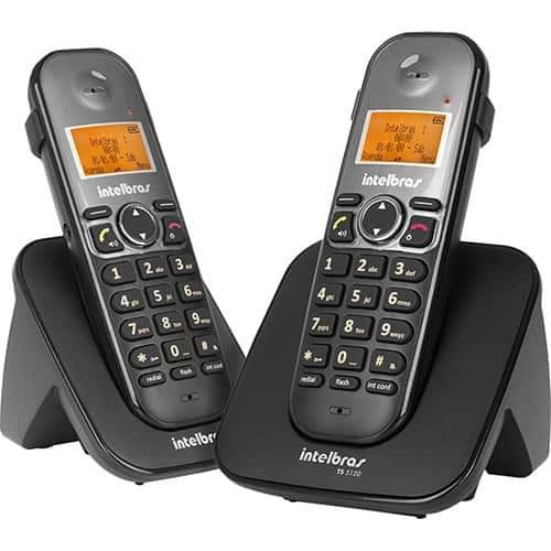 telefone sem fio intelbras ts5122