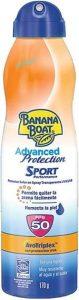protetor solar aerosol bananaboat sport
