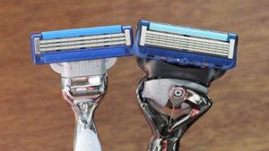 Gillette Mach 3 e Fusion