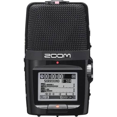 gravador de voz digital Zoom H2n