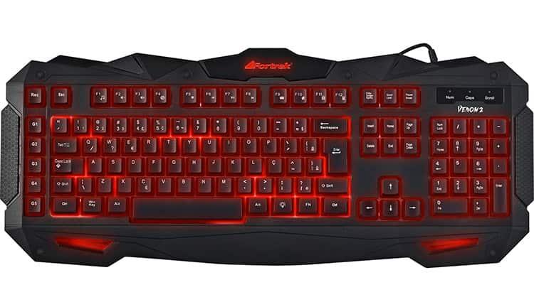 teclado Fortrek Spider Venom GK705