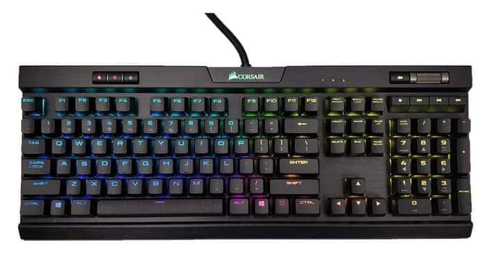 teclado gamer corsair k70