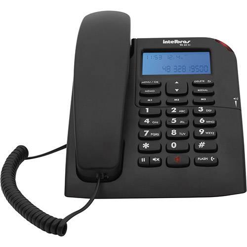 telefone com fio TC60ID Intelbras