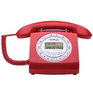 telefone com fio vintage TC8312 Intelbras
