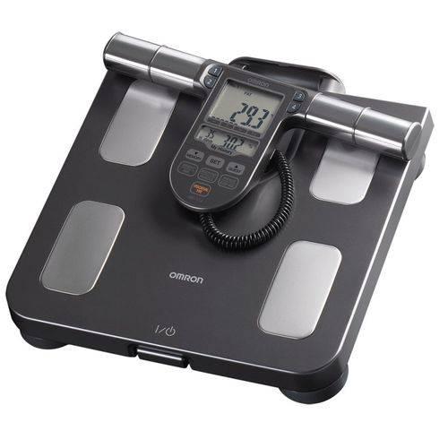 balança digital completa com medição de gordura