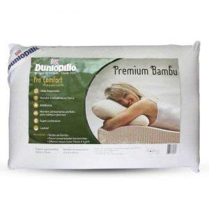 travesseiro bambu dunlonpillo