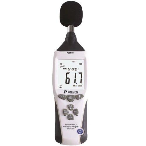 decibelímetro profissional incoterm