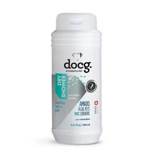 shampoo em pó para gatos docg