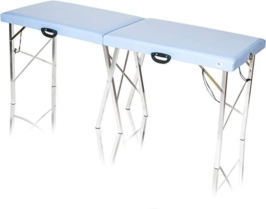 mesa maca portátil de alumínio