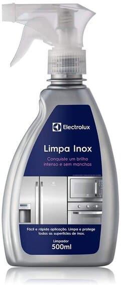 limpa inox spray electrolux